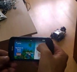Controlling Lego NXT by Windows Phone (video)