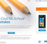 AT&T Giving Away a Lumia 900 for Back to School Promo