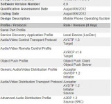 Windows Phone 8 Bluetooth Profiles Made Public (OBEX)