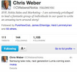 Nokia's Chris Weber Calls Out Samsung and It's Galaxy Note (Bigger Lumia Coming?)