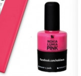 "Nokia Partners With Duality Cosmetics For ""Lumia Pink"" Nail Polish"