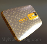 Concept Art: Nokia Lumia Running Windows Phone 8 – Dripped in Louis Vuitton Gold