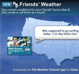 Nokia and Windows Phone Front and Center on The Weather Channel's Website