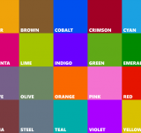 Leaked: All New Colors Accent Colors for Windows Phone 8