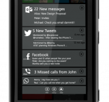 Concept Art: Windows Phone 8 Notification Center
