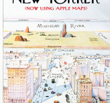 Mad Magazine Pokes Fun at Apple Maps With New Yorker Cover (Funny)