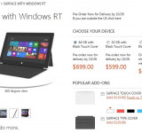 Microsoft Surface RT: $499 Version Already in Back-Order (Shipping in November)