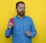 New Video Shows an unseen Magenta Lumia 920