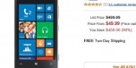 Nokia Lumia 920 Now on Amazon.com for 49.99 on Contract