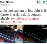 Camera – Low Light: Nokia Lumia 920 vs HTC 8x