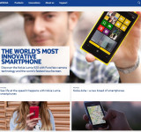Nokia Updates Company Site – More WP and More Modern UI