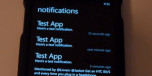 Windows Phone Hacker's Preview of Homebrew Notification Center