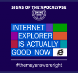 Signs of the Apocalypse: IE is Actually Good Now (video + pics)