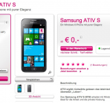 Samsung ATIV S Finally Available on T-Mobile… in Austria