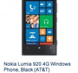 Nokia Lumia 920 Now Back In Stock On Amazon For Just $39.99