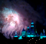 Disneyland Christmas Fireworks Shot With the Nokia Lumia 920