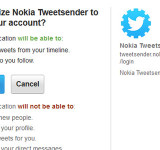 Nokia Launches TweetSender (Device Info DM'd Straight to You)