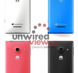 Leaked: New Images of the Huawei W1 in Different Colors