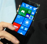 Youm: Samsung Shows Off Bendable Windows Phone (images)