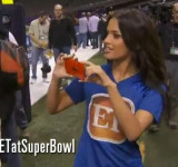 Entertainment Tonight Showcases Nokia Lumia 920 While Covering Super Bowl Media Day