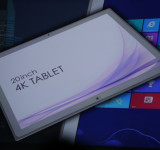 CES: Shows Off Light Weight 20-inch 4K Windows 8 Pro Tablet (images)