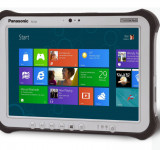Panasonic Toughpad FZ-G1: Tough Water Resistant Windows 8 Tablet (videos)