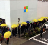 Many Lines Form For Surface Pro Launch And In Many Locations Sell Out