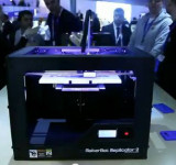 MWC 2013: Live 3D Printing with the Lumia 820 (video)