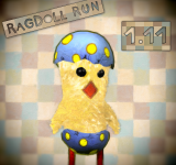 RagDoll Run Updated to V1.11 – Free New Character for Easter (Chicky)
