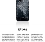 Concept Art: Nokia Ads (iBroke, Think Different)