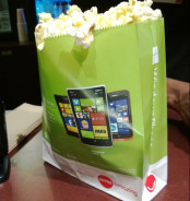 Microsoft and Nokia Promote Windows Phone at the Movies via Popcorn