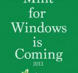 Mint Announces Windows Phone 8 App for 2013