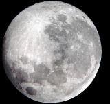 """SuperMoon"" Close Up Picture Taken With Nokia Lumia 920 and Telescope"