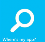 Microsoft Publishes 'Where's my app?' to the Windows Phone Store