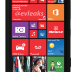 Black Nokia Lumia 929 Press Render Leaked