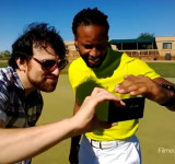 NFL Arizona Cardinals Wide Receiver Larry Fitzgerald Now Using The Nokia Lumia 1020
