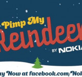 Nokia: Santa Needs You! Pimp My Reindeer (chance to win new lumia handsets)