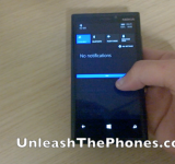 New Video Of Windows Phone 8.1 Action Center In,Well..Action