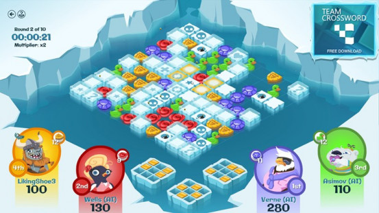 Glacier Blast, A New Xbox Puzzle Title By Microsoft Studio's, Now Available For Windows 8 (FREE)