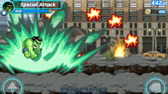 Marvel Run Jump Smash! Now Officially, Finally Out For Windows Phone