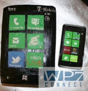 HTC HD7 Cake