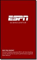 ESPN ScoreCenter 1