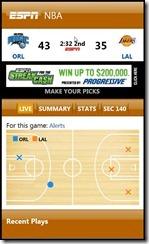 ESPN ScoreCenter 5