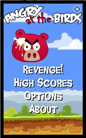 Angry At The Birds Game The Pigs Take Their Revenge Wp7