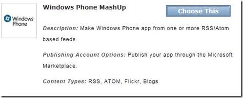 appmakr wp7