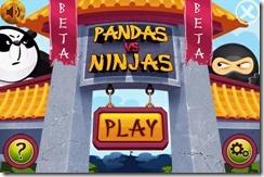 Pandas vs Ninjas - android