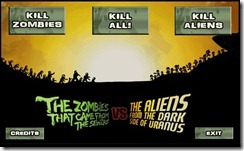 Zombies vs Aliens 3