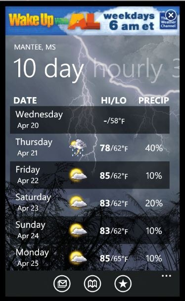 weather channel app gets updated