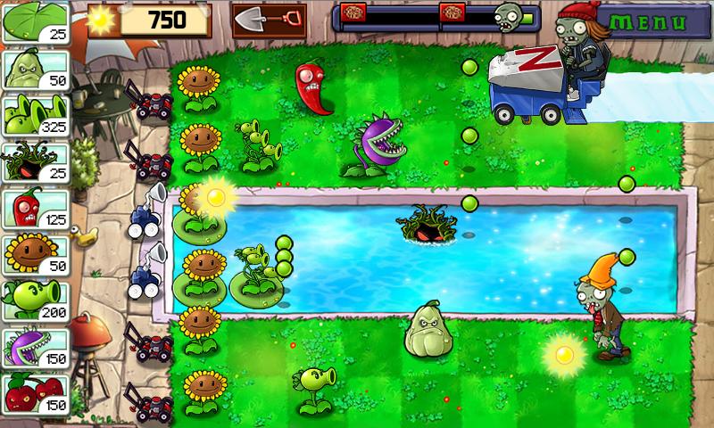 Игра Растения Против Зомби 3