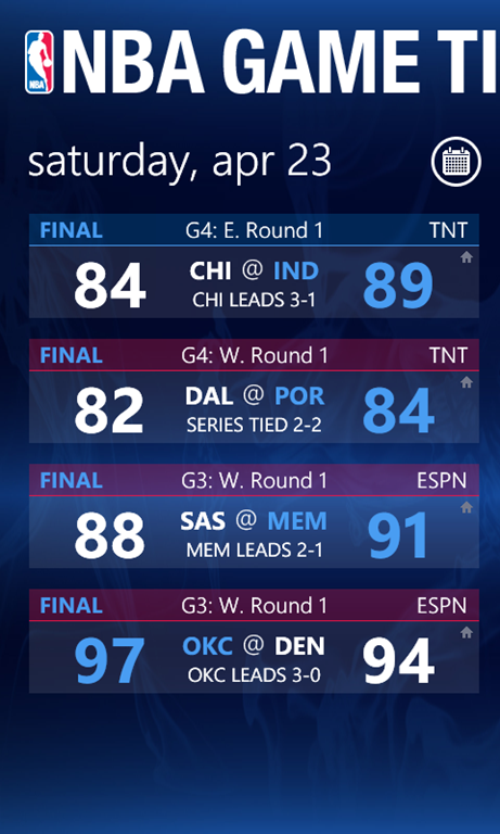 Official NBA Game Time 2011 App Available | WP7 Connect